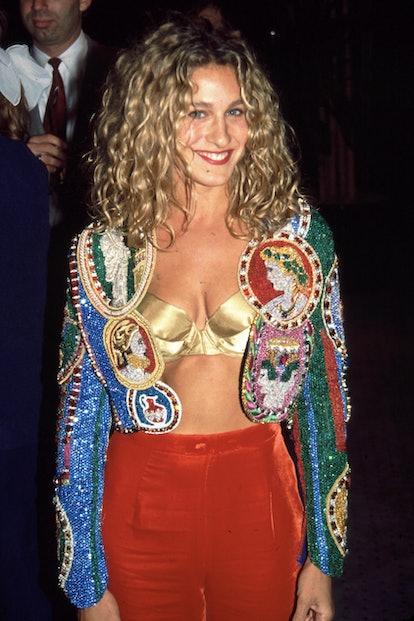 Sarah Jessica parker in sequins