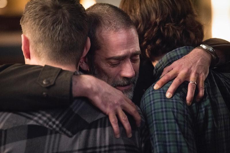 Jeffrey Dean Morgan, Jensen Ackles, and Jared Padalecki got matching Supernatural tattoos.