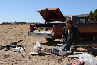 Bryan Cranston as Walter White in the Breaking Bad finale