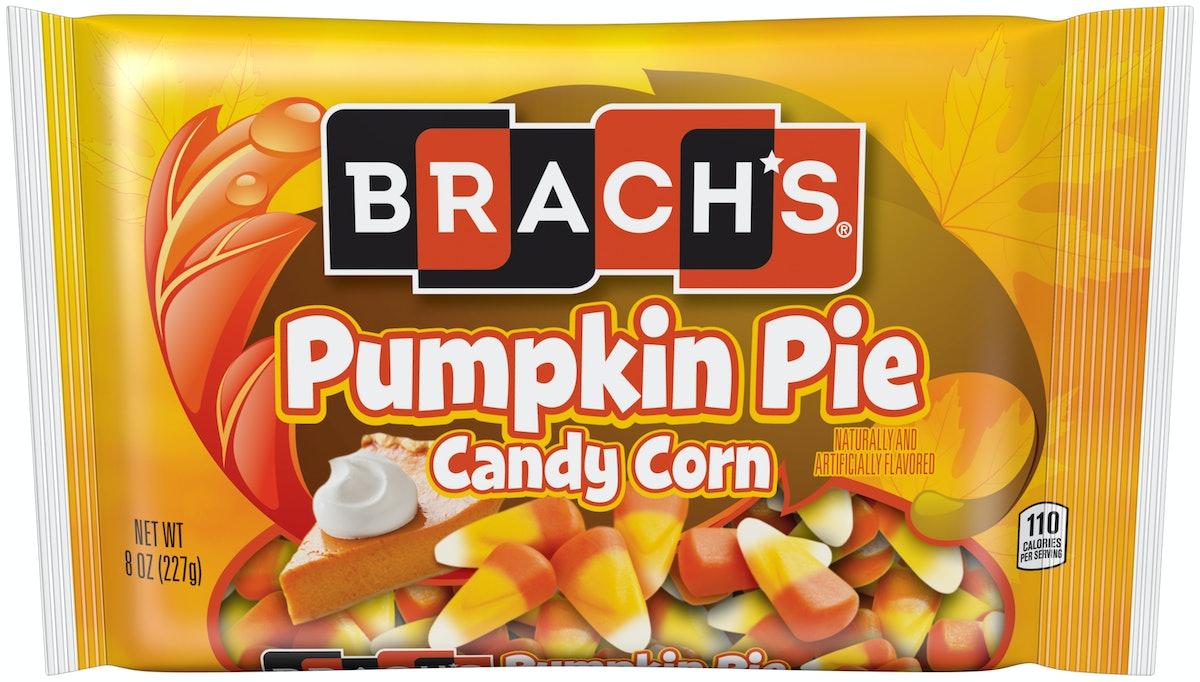 Brach's new Candy Corn for 2019 includes a Pumpkin Pie Candy Corn flavor.