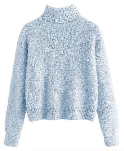Milumia Crop Turtleneck Sweater