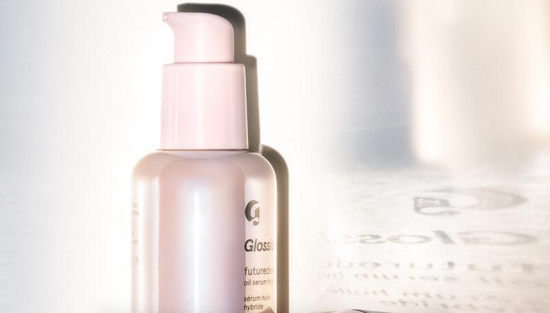 Glossier's new Futuredew serum in bottle
