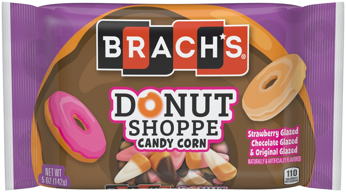 Brach's new 2019 candy corn flavors include pumpkin pie and donut shoppe candy corn.