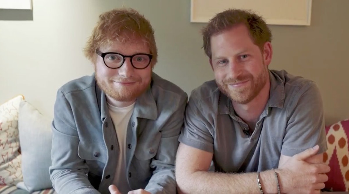 Prince Harry & Ed Sheeran for Mental Health Awareness Day