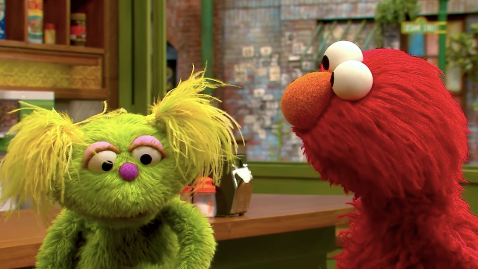 'Sesame Street's new puppet Karli opens up about mom's struggles with addiction in new segment