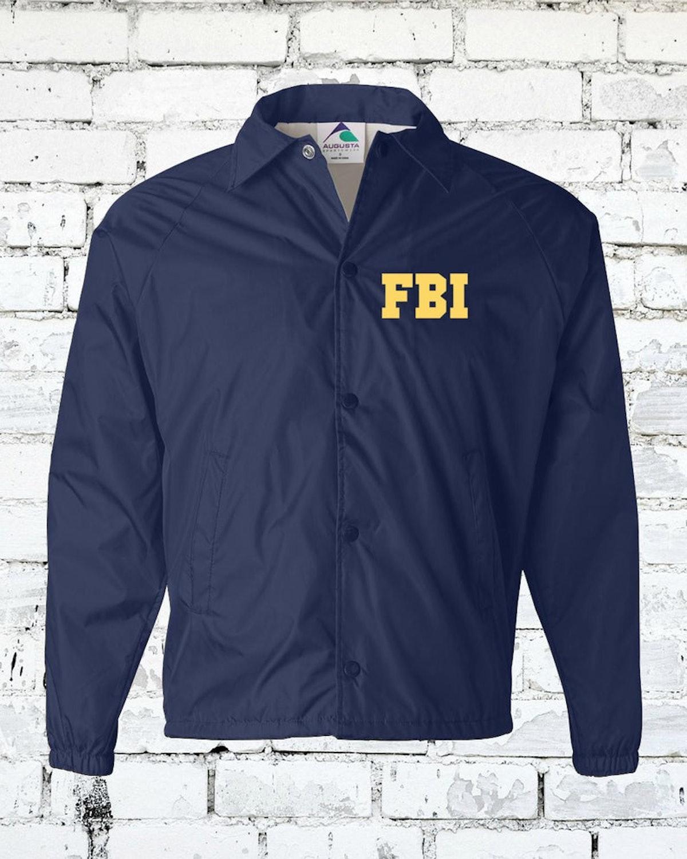 Thirdrowprnt FBI Field Agent Agent Jacket - Realistic Jacket- Customizable!