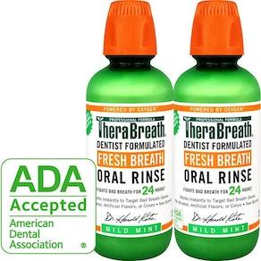 TheraBreath Fresh Breath Oral Rinse (2 Pack)