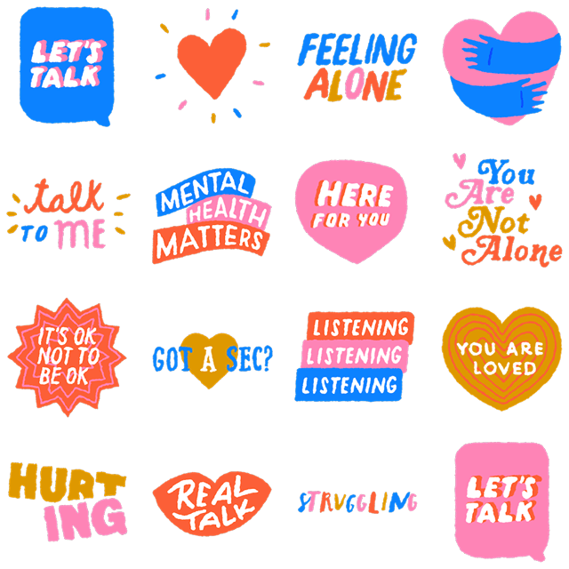Let's Talk for Facebook Stories and Messenger can let others know you're open to talking about mental health.