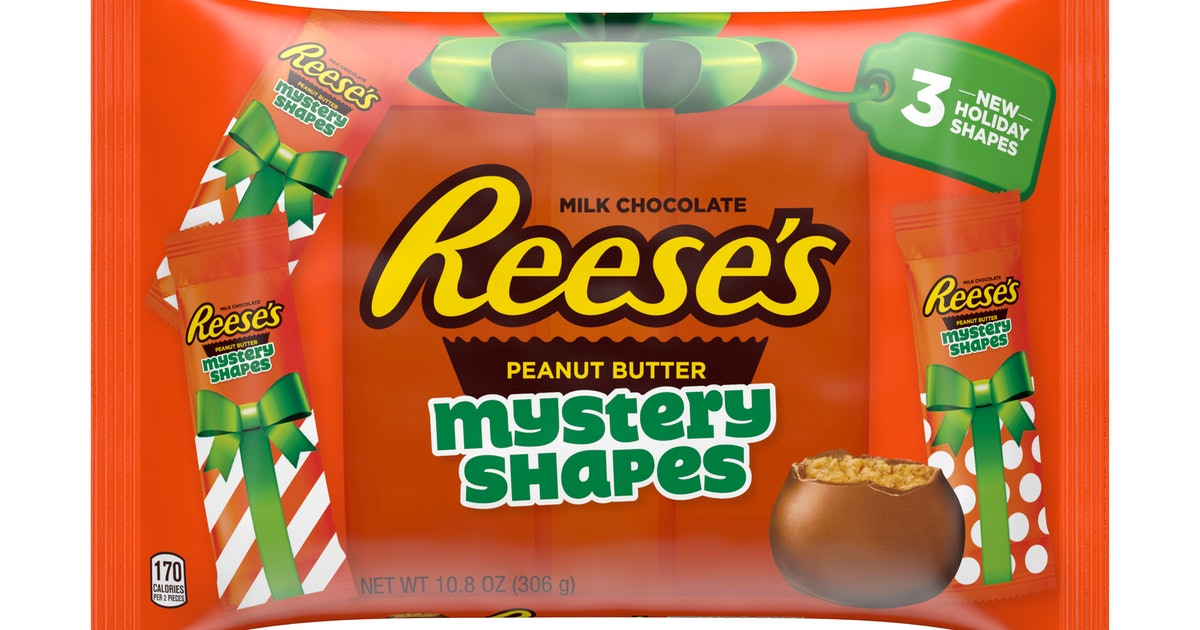 """What Are Reese's Holiday """"Mystery Shapes""""? All 3 Are Equally Delicious"""