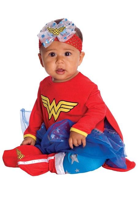 Wonder Woman Infant Romper Costume