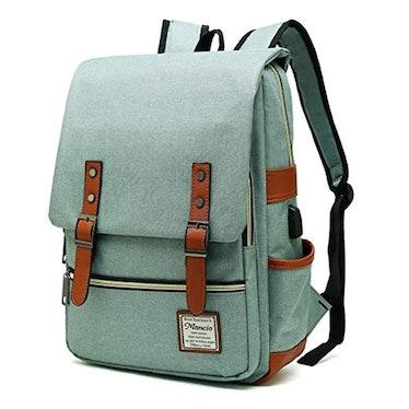 MANCIO Slim Laptop Backpack