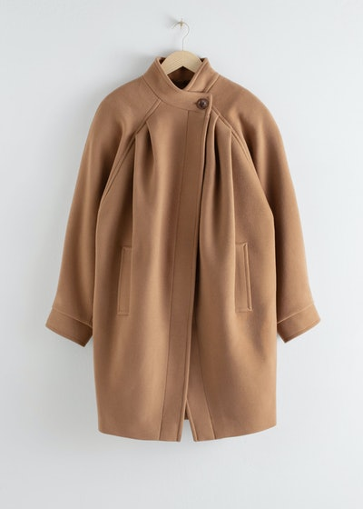 Oversized Single Button Coat