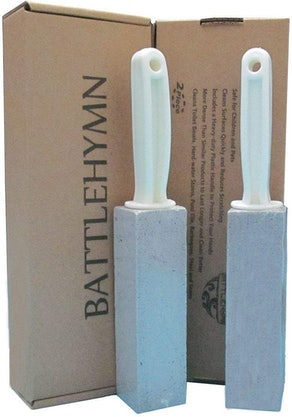 Battlehymn Pumice Cleaning Stone (2-Pack)