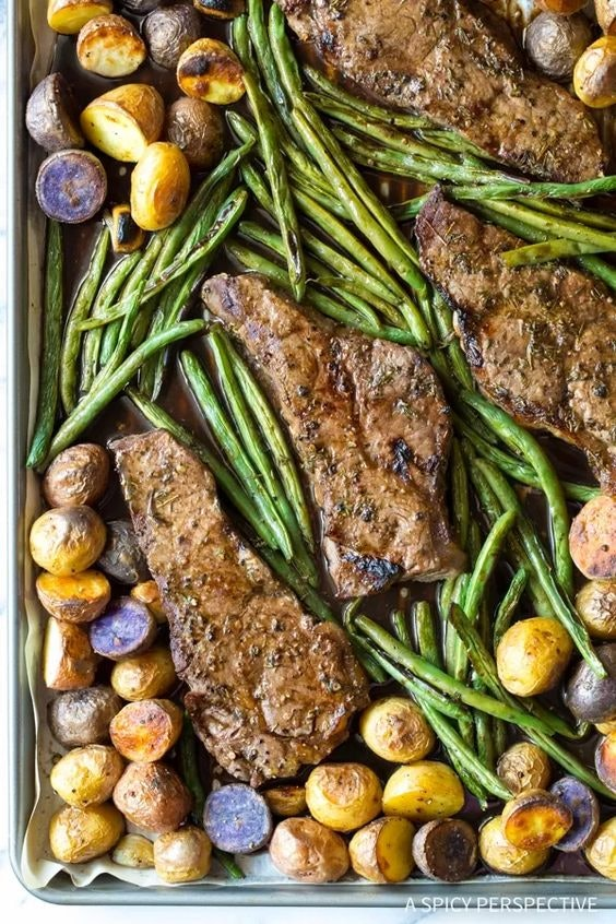 9 Sheet Pan Recipes With Steak That Are Guaranteed To Please
