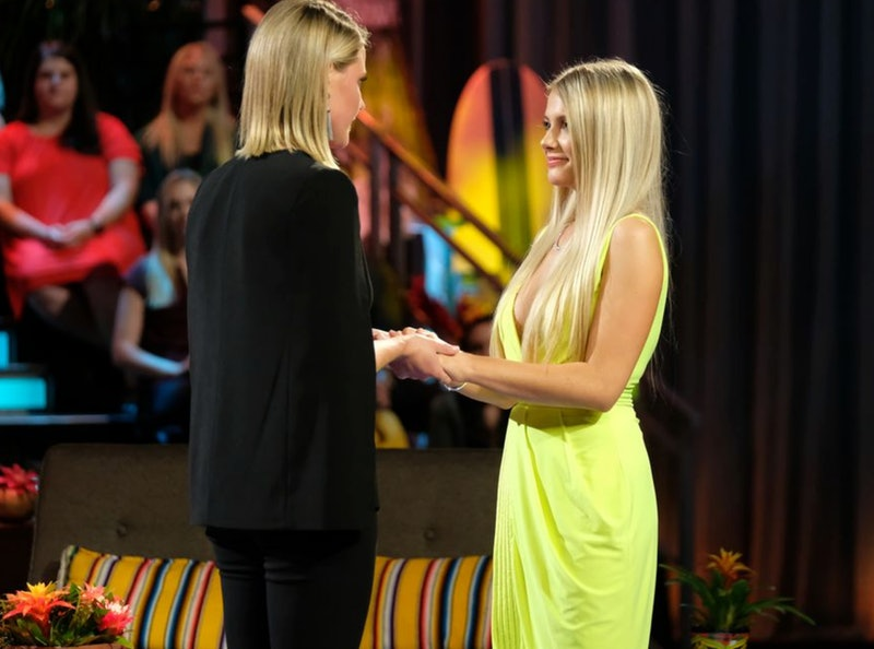 Demi Burnett and Kristian Haggerty at the Bachelor in Paradise finale