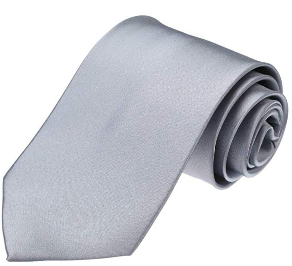 Dan Smith Men's Fashion Solid Tie