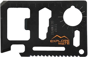 Explore Mate 11-in-1 Survival Card