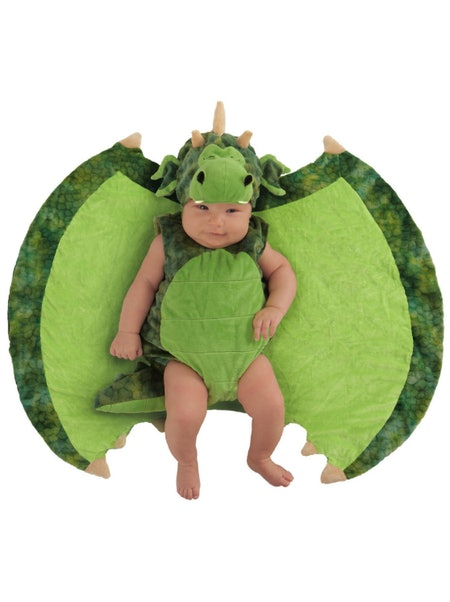 Infant Darling Dragon Swaddle Wings Costume