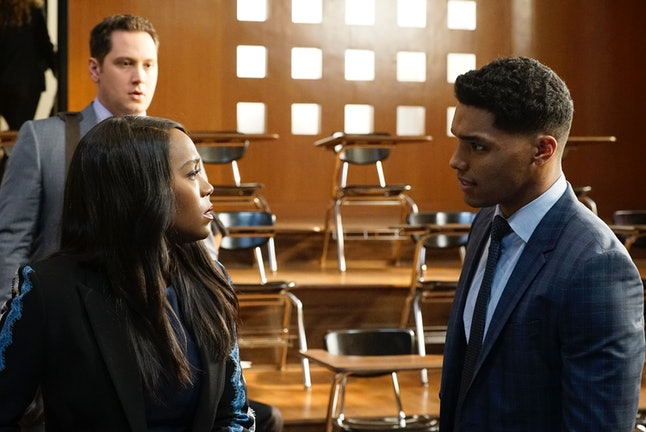 Michaela and Gabriel could be related on HTGAWM