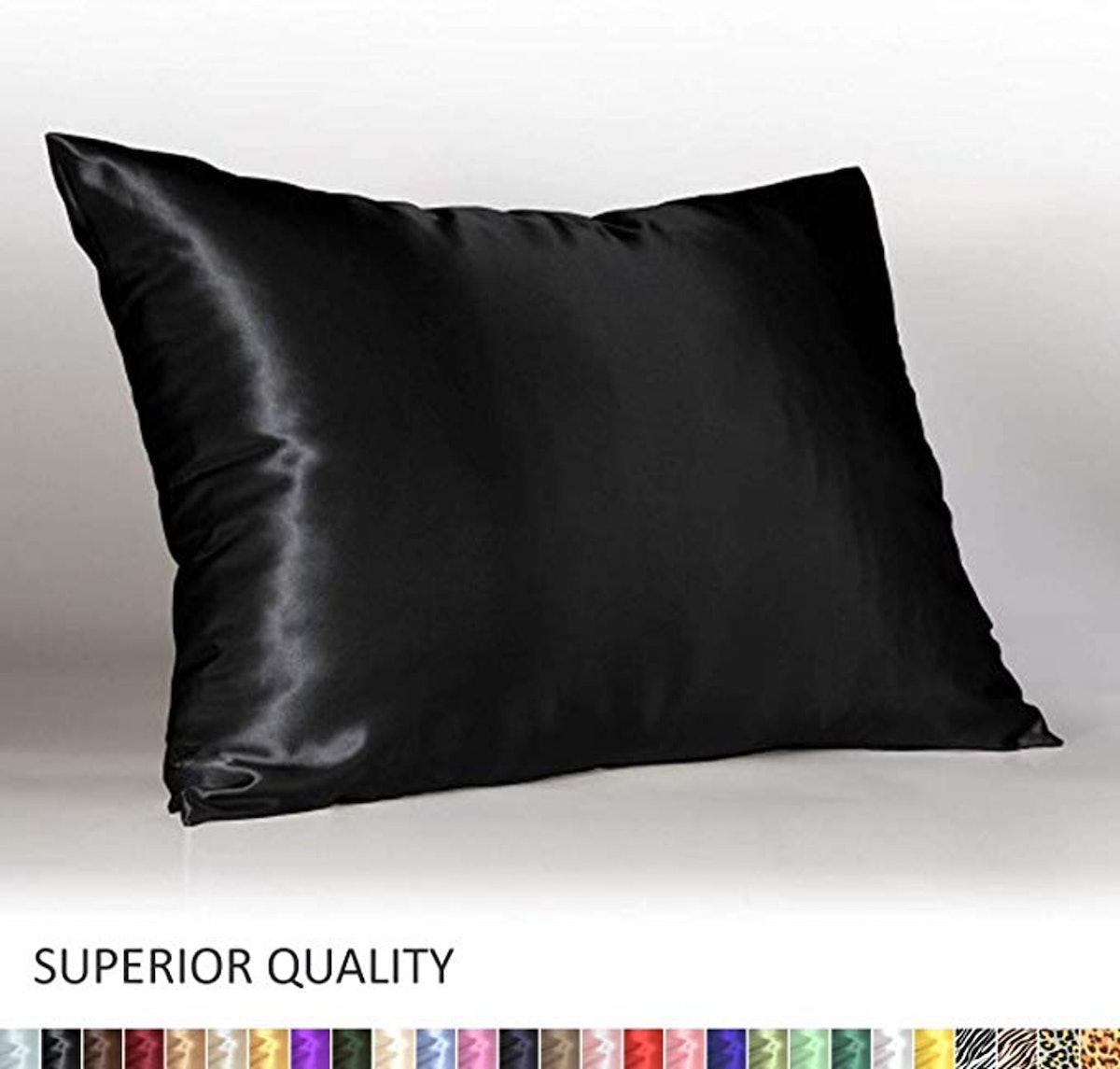 ShopBedding Luxury Satin Pillowcase for Hair