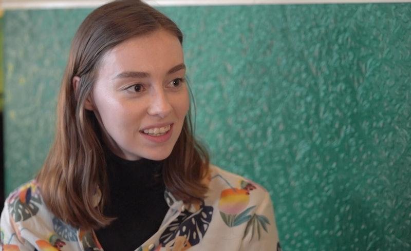 Grace Mandeville on BBC's 'Fashion Conscious'