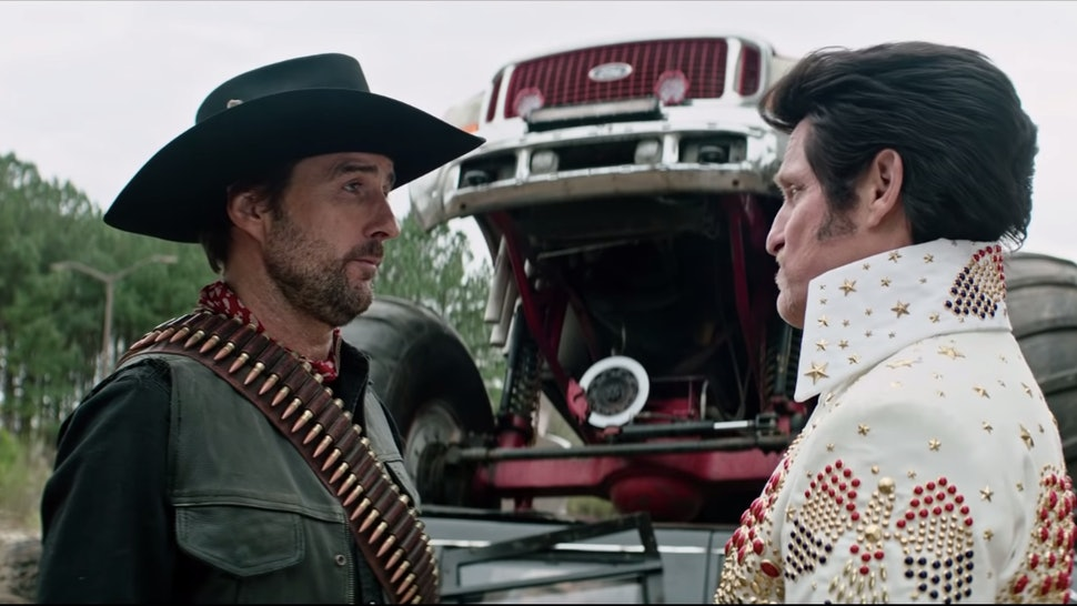 Luke Wilson and Woody Harrelson as Albuquerque and Tallahassee in Zombieland Double Tap