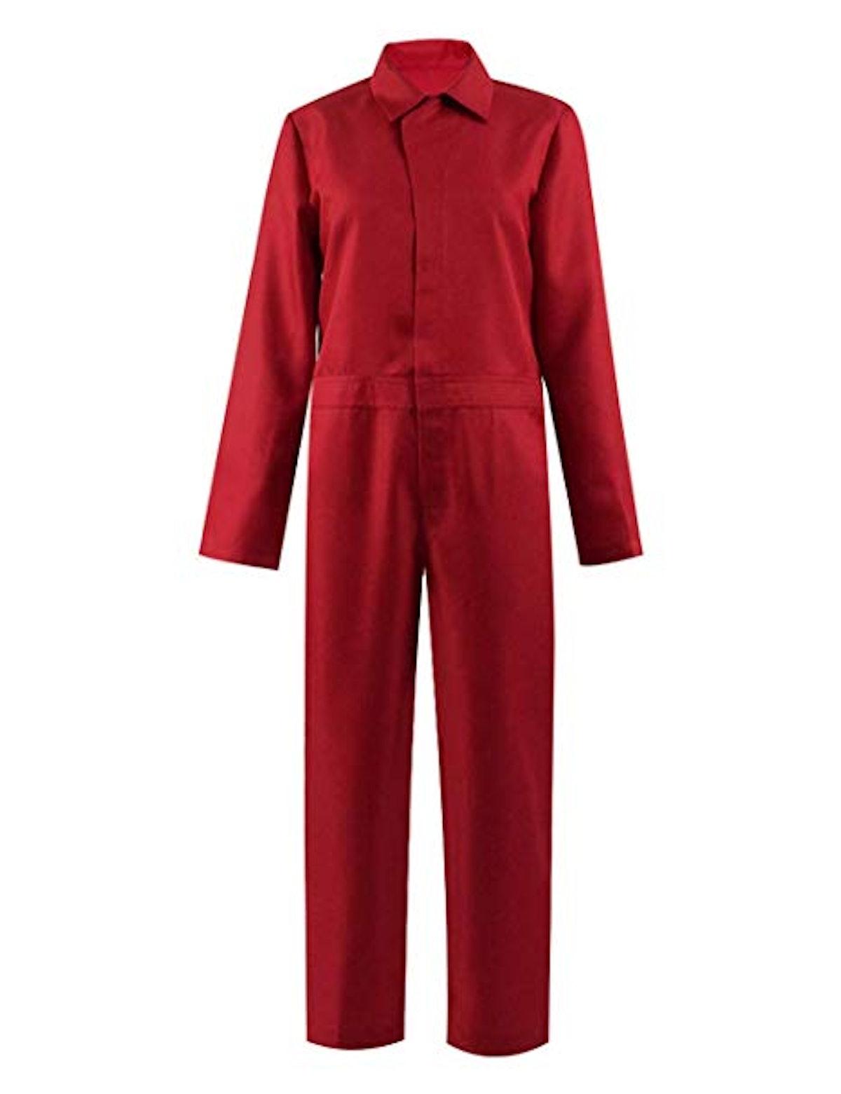 Us Adelaide Costume red Jumpsuit for Men/Women Halloween Costume Cosplay