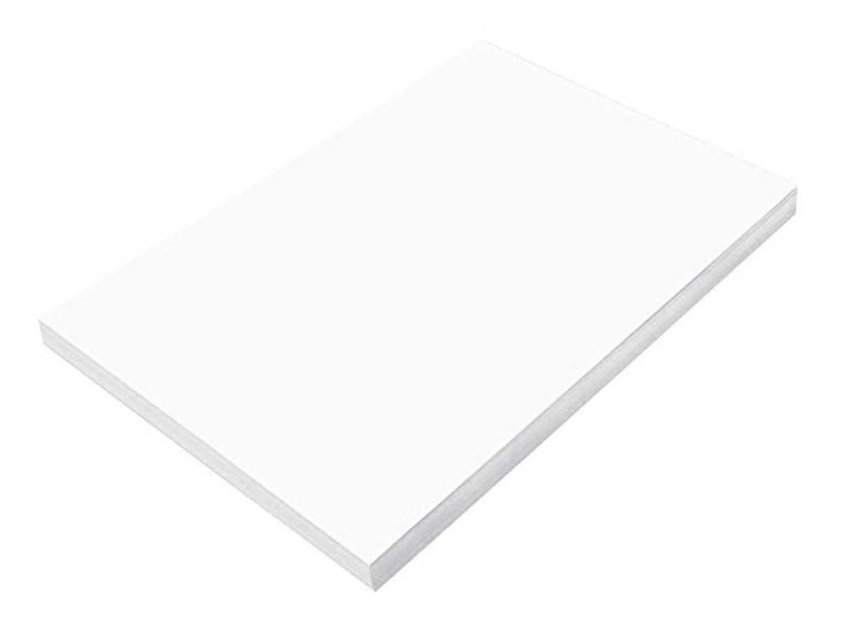 SunWorks Construction Paper, Bright White