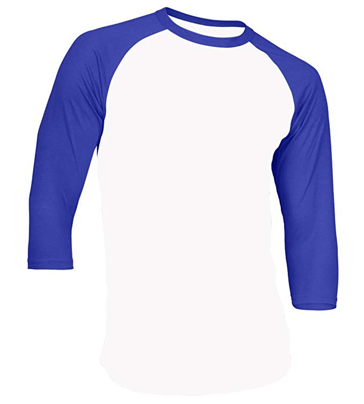 Raglan Shirt 3/4 Sleeve Athletic Baseball Jersey