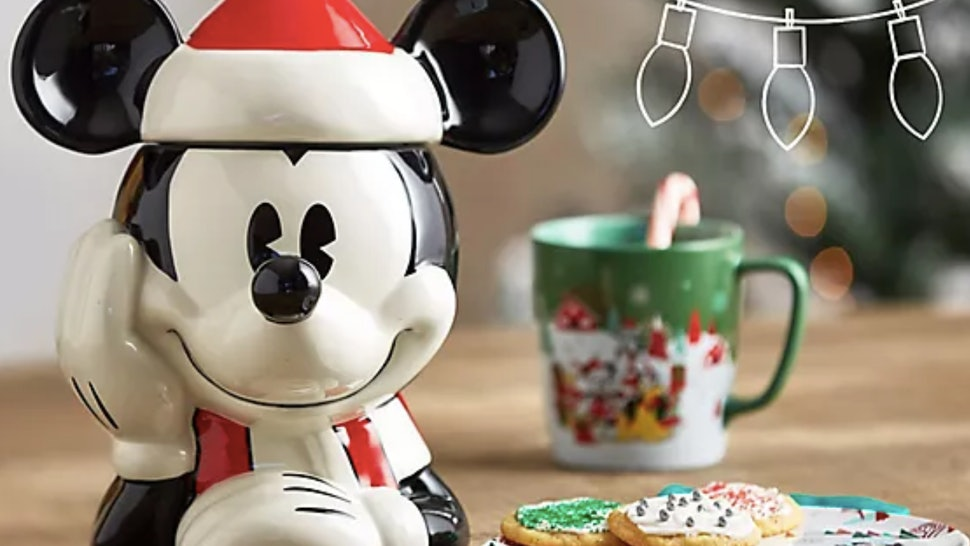 Disney has released a new line of holiday baking products.