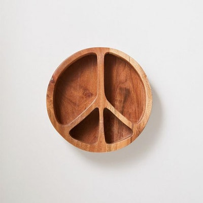 Peace Sign Snack Bowl