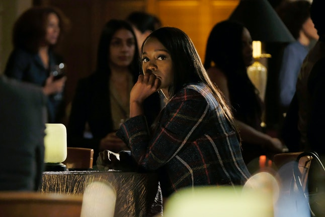 HTGAWM's Michaela, played by Aja Naomi King, may have had a hand in her mother's death.