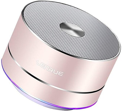 A2 Lenrue Portable Wireless Bluetooth Speaker with Built-in-Mic
