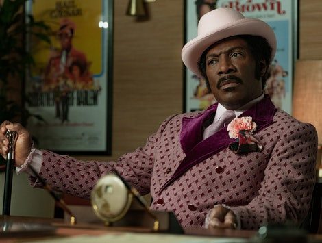 Eddie Murphy in Netflix's new comedy Dolemite Is My Name, streaming this October on Netflix.