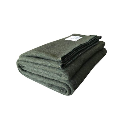 Woolly Mammoth Woolen Company Extra Large Merino Wool Camp Blanket
