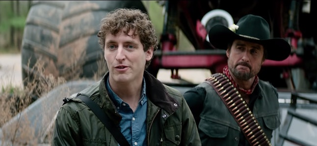 Thomas Middleditch and Luke Wilson as Flagstaff and Albuquerque in Zombieland Double Tap
