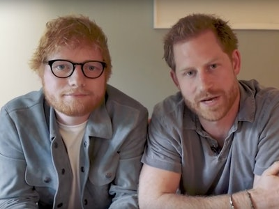 Ed Sheeran and Prince Harry collaborate on a video for Mental Health Awareness Day