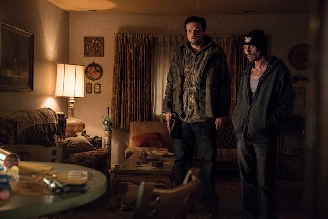 Matt Jones and Charles Baker as Badger and Skinny Pete in El Camino