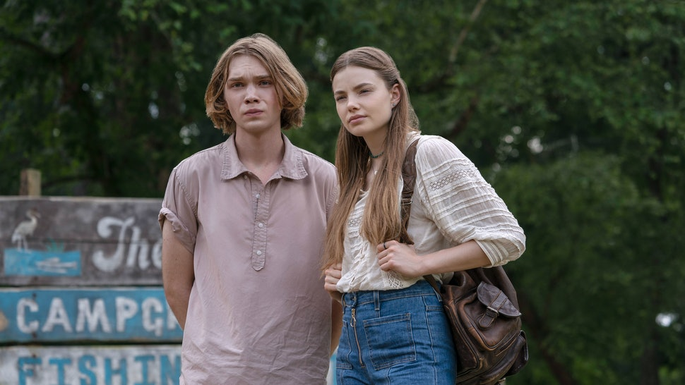 Miles and Alaska in Looking for Alaska, which is inspired by true events.