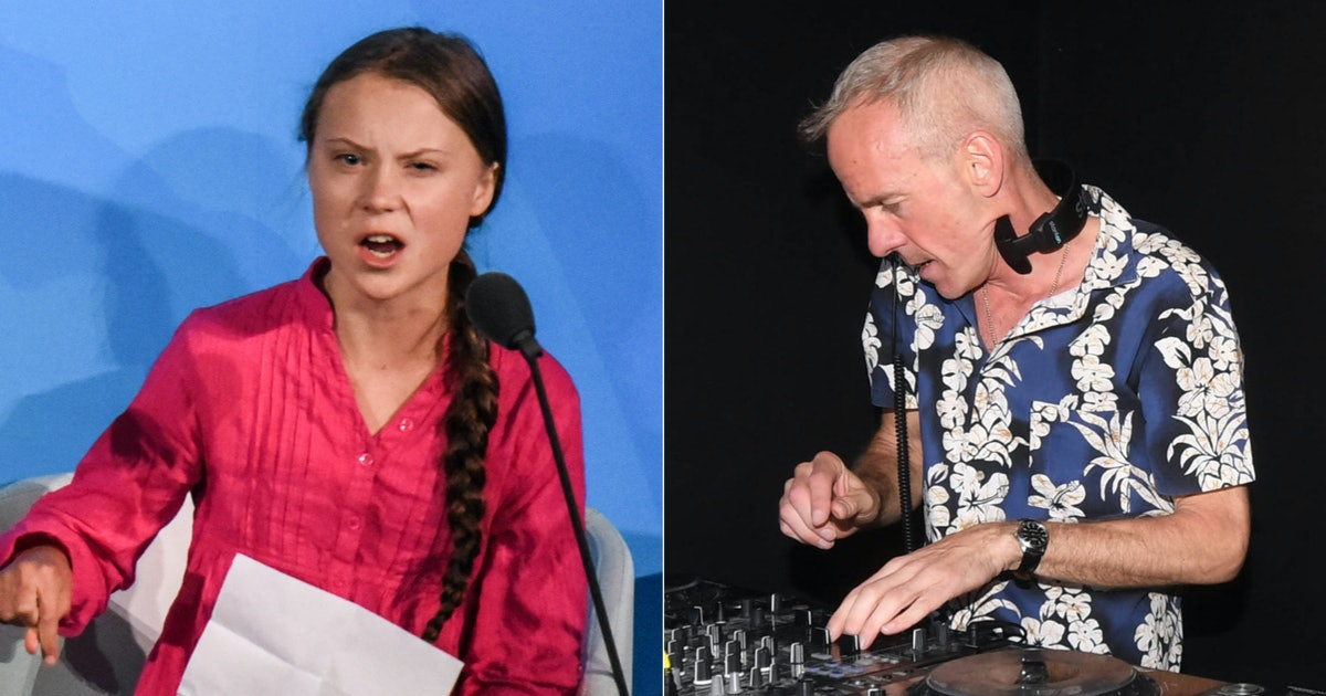 Fatboy Slim Just Sampled Greta Thunberg's UN Speech & You Have To Hear It
