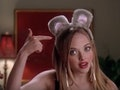 """""""I'm a mouse. Duh."""" is a great 'Mean Girls' quote for Halloween captions."""