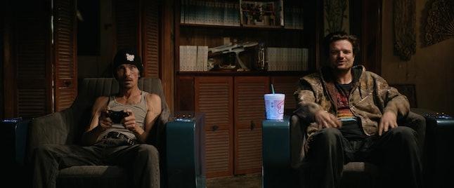 Charles Baker as Skinny Pete and Matt Jones as Badger 'El Camino: A Breaking Bad Movie'
