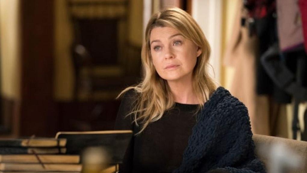 Meredith Grey in Season 16 of Grey's Anatomy