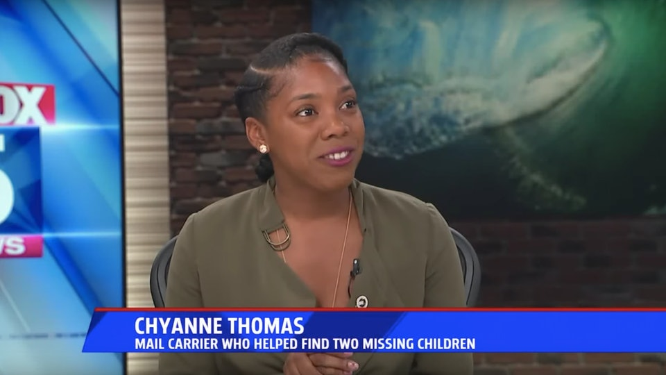 A California postal worker found two missing children in a two-week span while delivering mail.