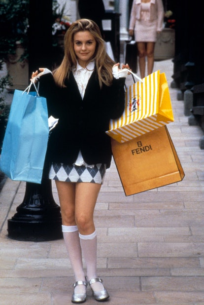 Clueless shopping tall socks outfit