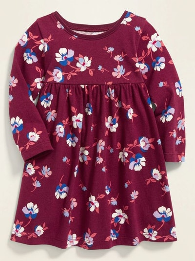 Old Navy Fit & Flare Jersey Dress for Baby