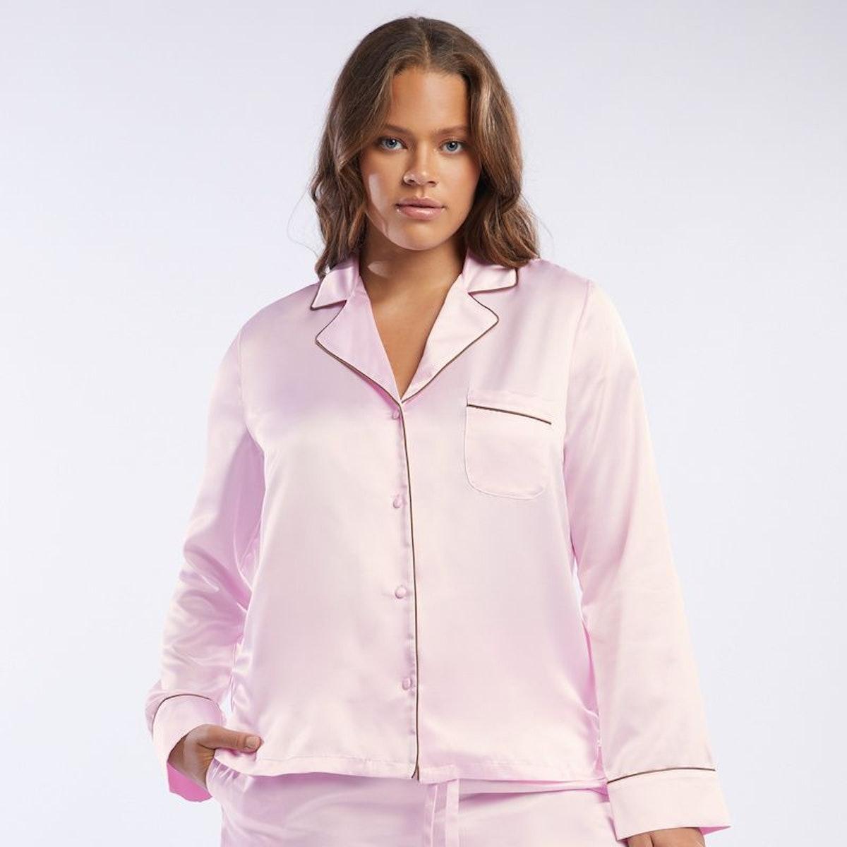 Satin Pajama Top