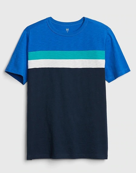 Kids Colorblock Short Sleeve T-Shirt
