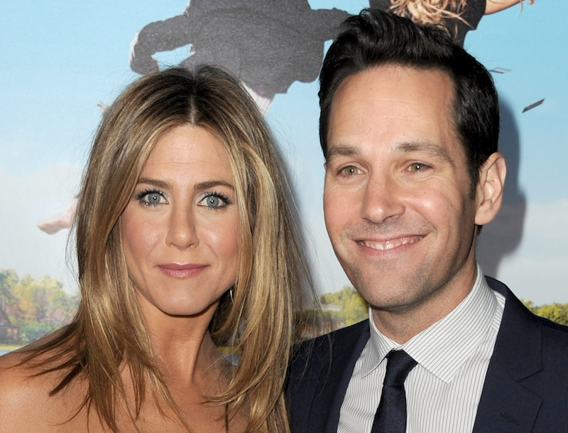 Paul Rudd ran over Jennifer Aniston's toe on his first day on set of Friends