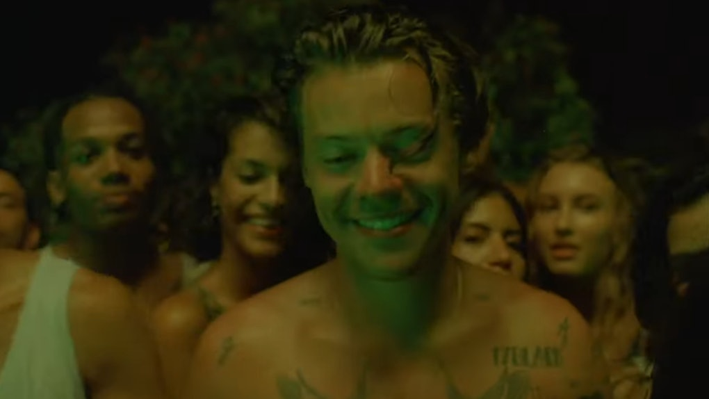 "Harry Styles ""Lights Up"" Music Video"